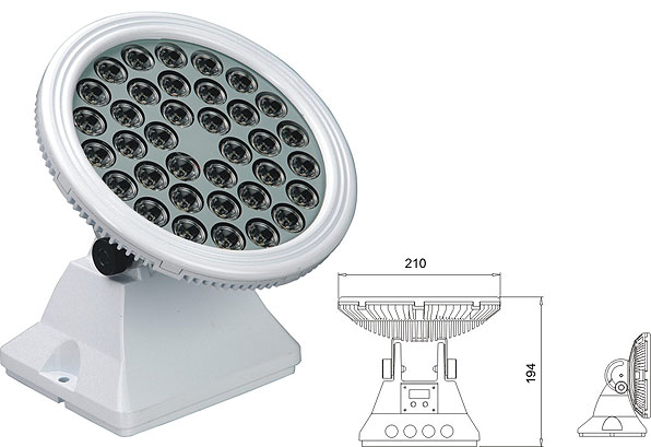 Światło LED dmx,oświetlenie przemysłowe LED,25W 48W Kwadratowa wodoodporna podkładka ścienna LED 2, LWW-6-36P, KARNAR INTERNATIONAL GROUP LTD