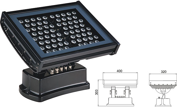 Światło LED dmx,led high bay,108W 216W Kwadratowa powódź LED Lisht 2, LWW-7-72P, KARNAR INTERNATIONAL GROUP LTD