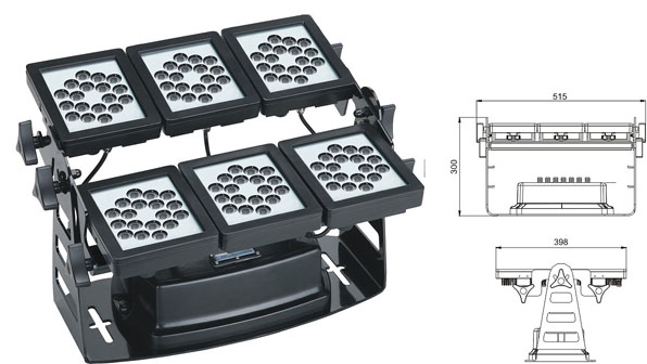 Led drita dmx,e udhëhequr nga puna,220W LED rondele mur 1, LWW-9-108P, KARNAR INTERNATIONAL GROUP LTD